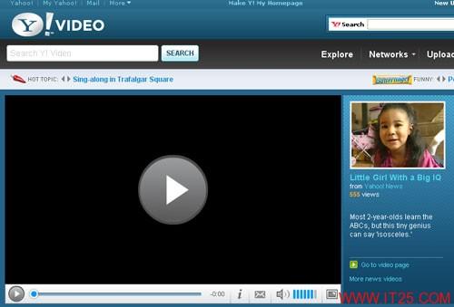 雅虎视频网站拟3月15日删除所有用户上传的视频